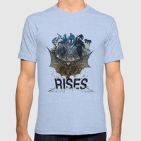 You're COLOR Rises Mens Fitted Tee Athletic Blue SMALL