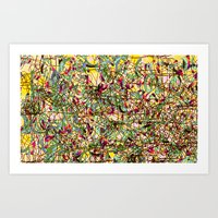 Emotional Map #23 Art Print