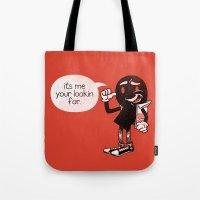 Punctual Tote Bag