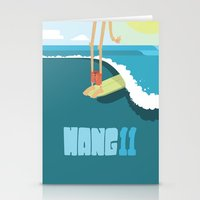 Hang 11 Stationery Cards