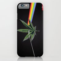 iPhone & iPod Case featuring the dark side of 4/20 by Ataxk SieSeiS