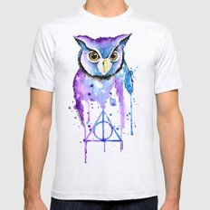 Hedwig Mens Fitted Tee Ash Grey SMALL