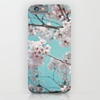 blossoms all over ~ color option teal iPhone 6 Slim Case