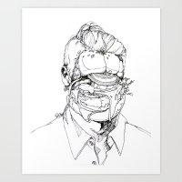 6 pieces_2 Art Print