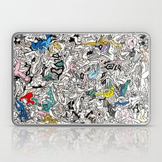 Kamasutra LOVE Doodle Closeup Color Laptop & iPad Skin