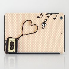 Photography makes my heart sing iPad Case