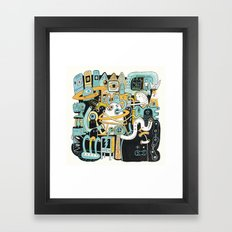 Welcome my son, welcome to the machine Framed Art Print