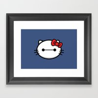 Hello Baymax Framed Art Print