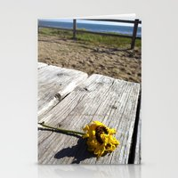 flower by the sea Stationery Cards