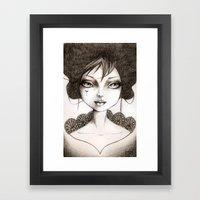 Dora Framed Art Print