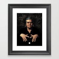 HR Giger Framed Art Print