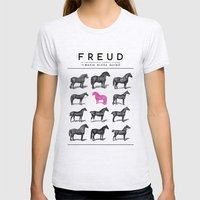 FREUD Womens Fitted Tee Ash Grey SMALL
