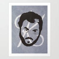 K Is For Kubrick Art Print