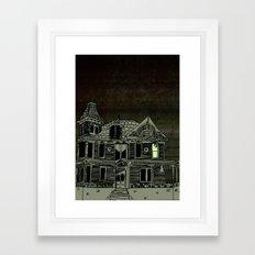 Haunted House #2 Framed Art Print