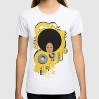 Love the 'Fro Womens Fitted Tee Ash Grey SMALL