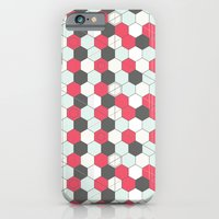 Hexagons Pattern iPhone 6 Slim Case