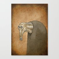 Medieval Monster XXI Canvas Print