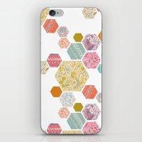 Summer honeycomb iPhone & iPod Skin