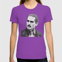 The Godfather - Part Two Womens Fitted Tee Ultraviolet SMALL