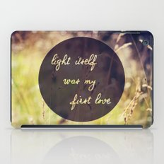 My First Love iPad Case