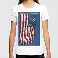flag T-shirts featuring Flag by Don't Be A Dick
