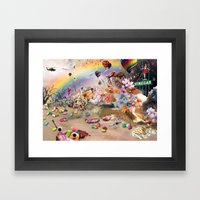 Collage 2 Framed Art Print