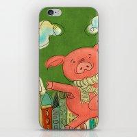 Piggy Pig iPhone & iPod Skin