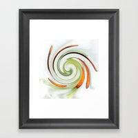 Lily Stamen Twirled Framed Art Print