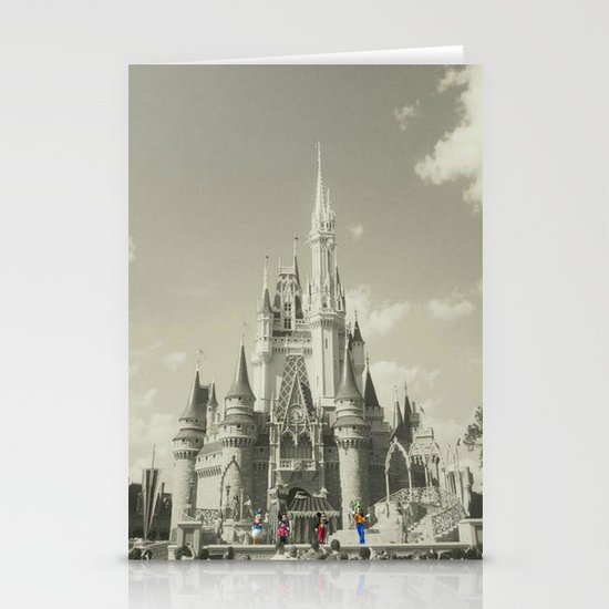 Walt Disney World Stationery Card