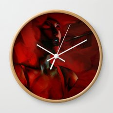 Lust Wall Clock