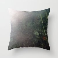 lost ladder Throw Pillow