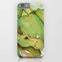 iPhone & iPod Case featuring DRAGON by Joshua James Stewart