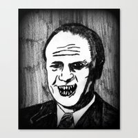 38. Zombie Gerald Ford  Canvas Print