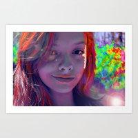 Mariah Art Print