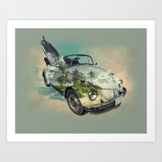 i want to be free 2 Art Print