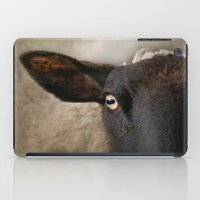 In a sheep's eye iPad Case