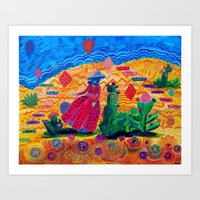 What's in the Desert Art Print
