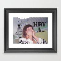 Krya... Framed Art Print