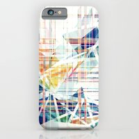 iPhone & iPod Case featuring GeoGlitch by AJJ ▲ Angela Jane Johnston