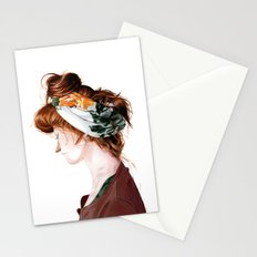 Red Head Stationery Cards