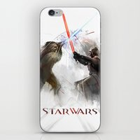 Star wars duel  iPhone & iPod Skin