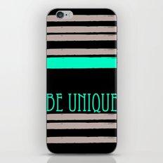 Be Unique iPhone & iPod Skin