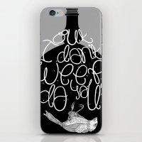 Bluebird - Bukowski iPhone & iPod Skin