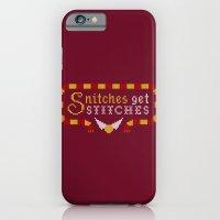 Snitches Get Stitches iPhone 6 Slim Case