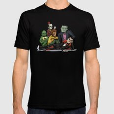 The Universal Monster Club Mens Fitted Tee Black SMALL