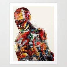 the ironman Art Print