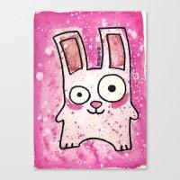 Freezer Bunny Canvas Print