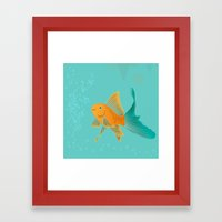 Approaching Dusk - Under The Sea Framed Art Print