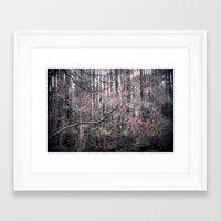 Blooms Like Lightning Framed Art Print