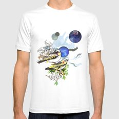 Yellow Birds Mens Fitted Tee White SMALL